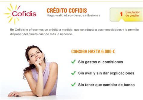 Credito Rapido Dinero Cofidis - prestamos bancarios banco hsbc