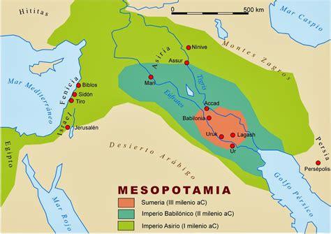 Creencias y culturas: Entre dos ríos: Mesopotamia