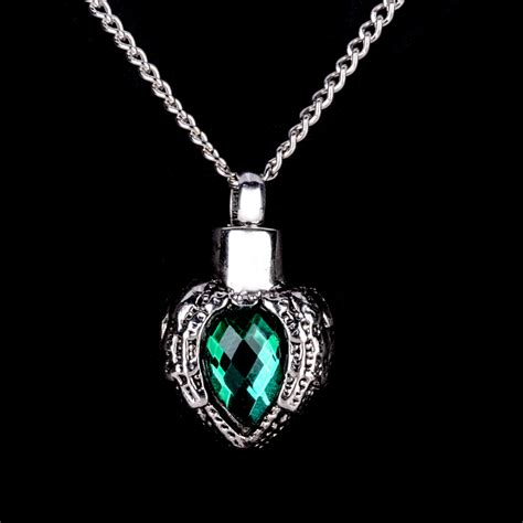 Cremation Jewellery for Ashes Funeral Ash Pendant Silver ...