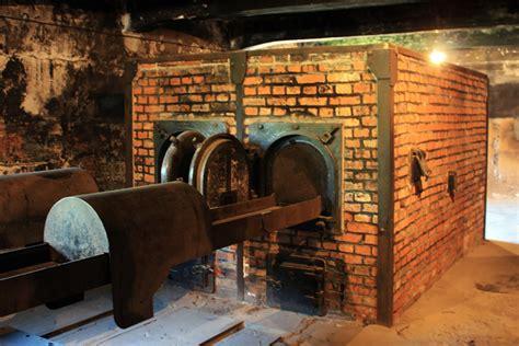 Crematorio del campo de exterminio de Auschwitz