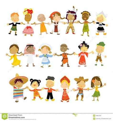 Crianças Do Mundo Fotografia de Stock Royalty Free ...