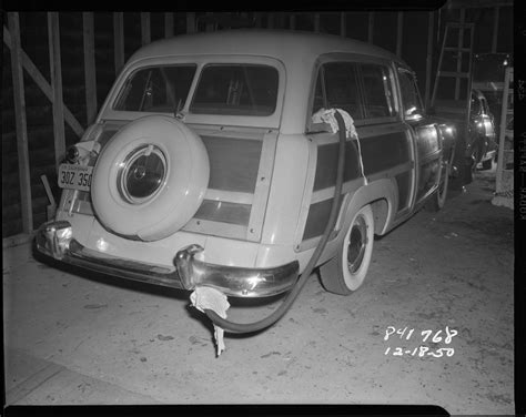 Crime Scene Photographs From The 1920s 1960s Give A ...