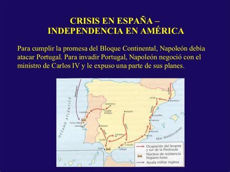 Crisis de España - Independencia de América