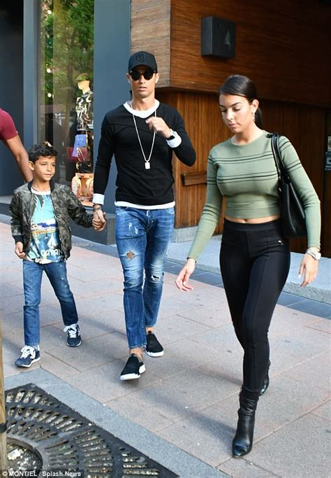 Cristiano Ronaldo and Georgina Rodriguez shop in Madrid ...
