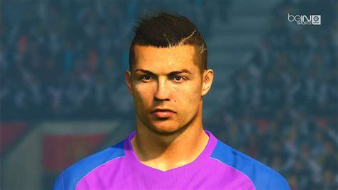Cristiano Ronaldo Face Collection - PES 2017 | Pest Patch ...