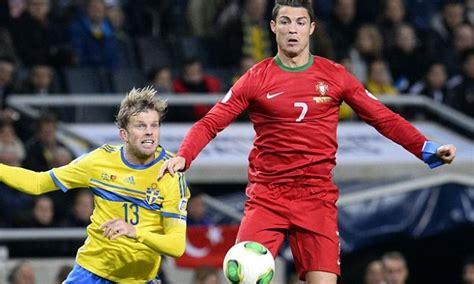 Cristiano Ronaldo hat trick   watch Sweden v Portugal ...