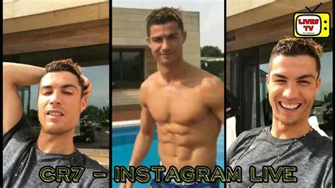 Cristiano Ronaldo   Instagram live   high quality  04/05 ...