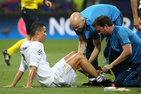 Cristiano Ronaldo jugó lesionado Final Champions League ...