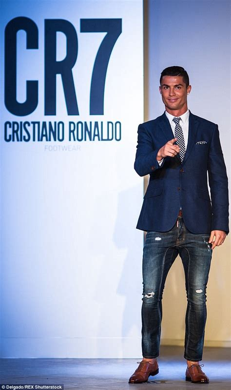 Cristiano Ronaldo launches CR7 footwear as Real Madrid ...
