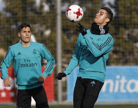 Cristiano Ronaldo: Real Madrid star displays black eye and ...