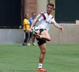 Cristiano Ronaldo returns to Real Madrid for pre season ...