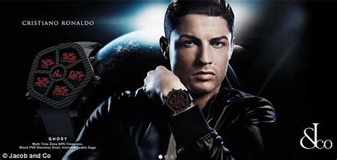 Cristiano Ronaldo spotted wearing jewel encrusted Jacob ...