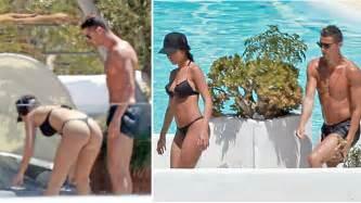 Cristiano Ronaldo y Georgina Rodriguez disfrutaron de una ...