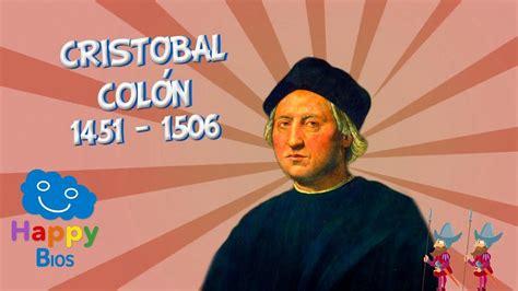 Cristobal Colón   Biografías Educativas para Niños ...