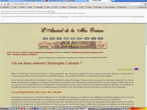 Cristóbal Colón en la Wikipedia   Cristóbal Colón