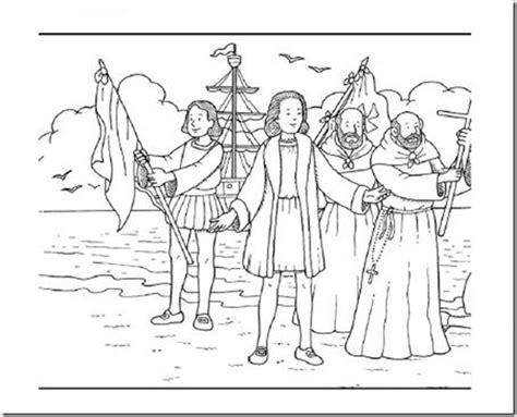 Cristóbal Colón para colorear, Descubrimiento de América ...