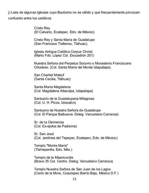 Criterios para los Sacramentos de iniciacion cristiana en ...