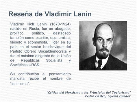 Crítica del Marxismo a los principios del Taylorismo desde ...