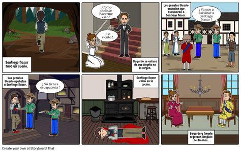 cronica de una muerte anunciada Storyboard by valiz
