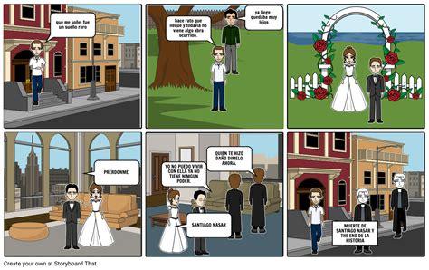 CRONICA DE UNA MUERTE ANUNCIADA Storyboard by xiomarasanchez