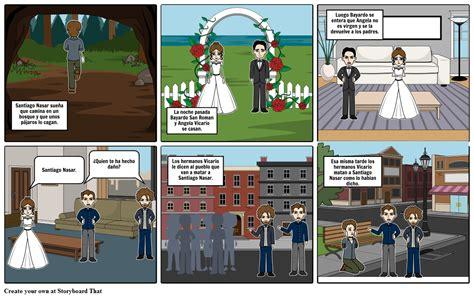 Crónica De Una Muerte Anunciada Storyboard por juaanbedooya