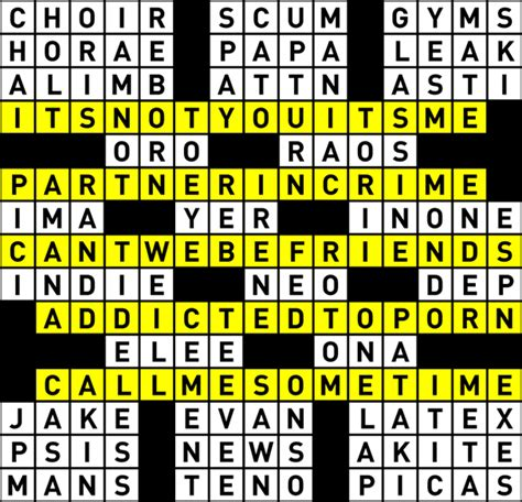 CROSSWORD PUZZLE AUTHORING /// L MAGAZINE by *** nyc ...