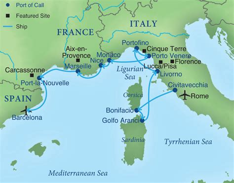 Cruising the Rivieras of Italy, France, & Spain ...