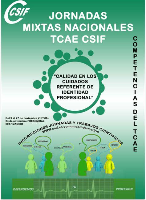 CSIF Torrevieja Salud: JORNADAS MIXTAS NACIONALES TCAE CSIF