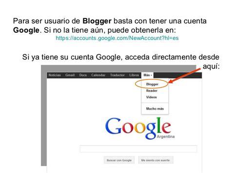 Cts como acceder a blogger