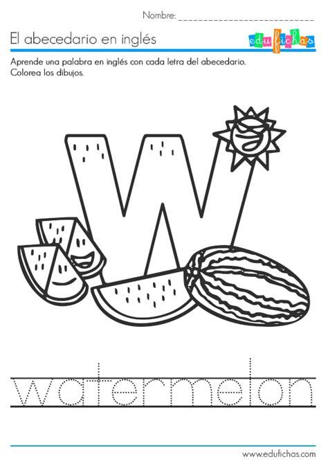 Cuadernillo del abacedario en inglés. Cuadernillo PDF gratis
