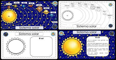 cuaderno para trabajar el SISTEMA SOLAR