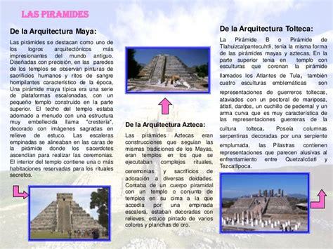 Cuadro entre maya, azteca y tolteca