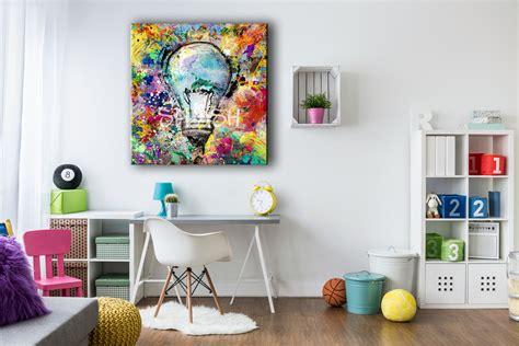 Cuadros Abstractos|Cuadro abstracto con bombilla| Cuadros ...