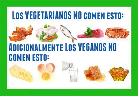 Cuadros comparativos entre Veganos y Vegetarianos ...