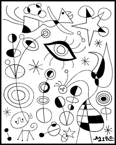 cuadros de kandinsky para colorear   Buscar con Google ...
