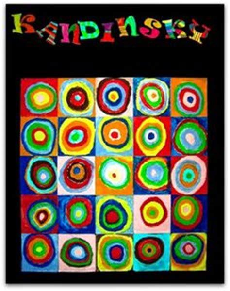 Cuadros de Kandinsky Para Niños de Infantil. Juega a ...