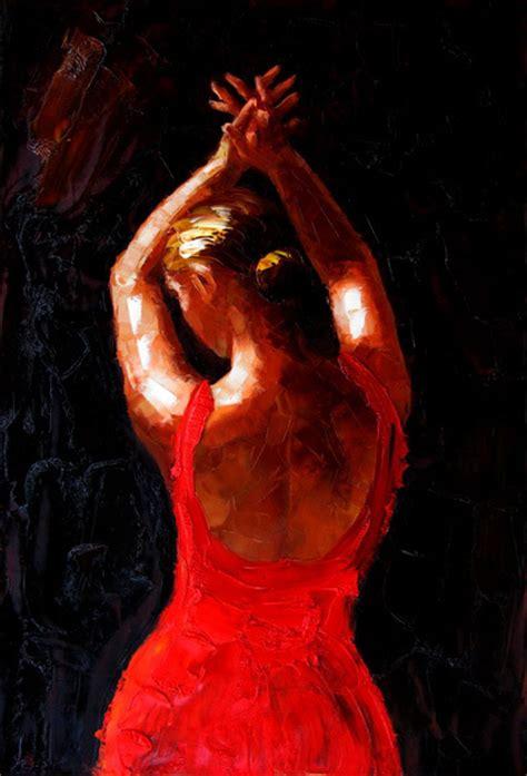 Cuadros modernos, cuadros danza, ballet, flamencas, V-Flamenca