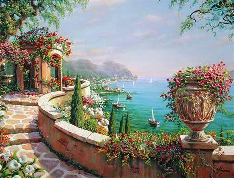 Cuadros, pinturas, oleos: Cuadros paisajes primaverales ...