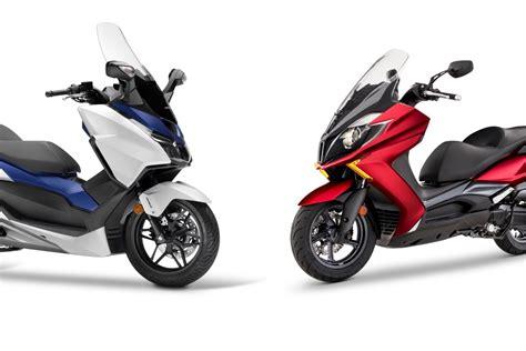 ¿Cuál es mejor, el Honda Forza 125 o el KYMCO Super Dink ...
