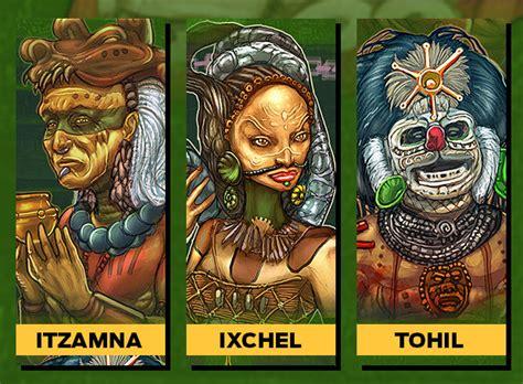 Cuales eran los dioses de los mayas