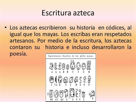 ¿Cuáles fueron los principales avances aztecas? - ppt ...