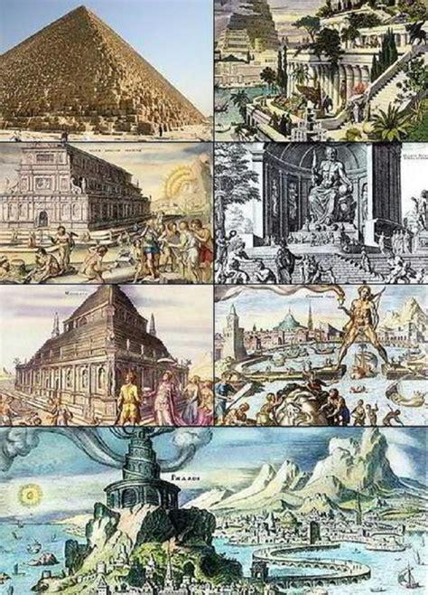 Cuáles son las 7 maravillas del mundo antiguo   8 pasos
