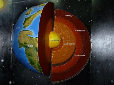 ¿Cuáles son las capas internas de la Tierra?