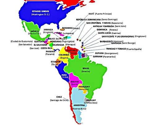 ¿Cuáles son los países de América Latina y sus capitales ...
