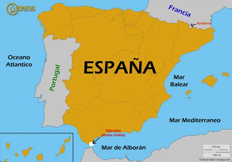 ¿Cuáles son los países que limitan con España ...