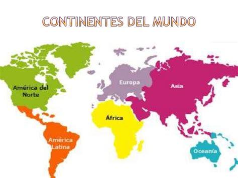 Cuales son los pises del continentes y sus nomdres   Imagui
