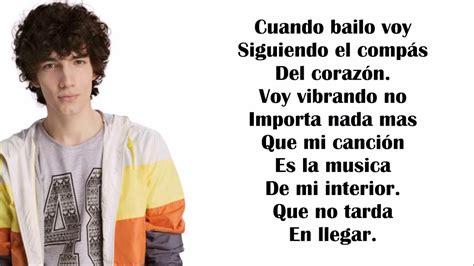 Cuando Bailo-Ramiro-Soy Luna-Letra Completa - YouTube