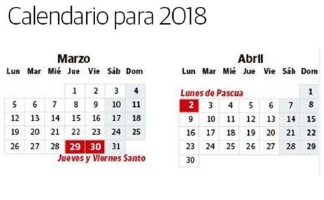 Cuándo cae Semana Santa en 2018: fechas de los días ...