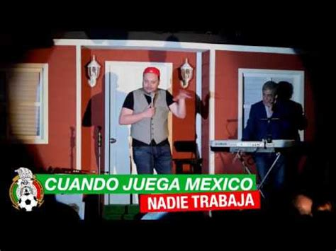 Cuando juega la Selección Mexicana nadie trabaja - YouTube