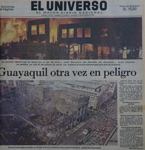 Cuando la noche se hizo día en el centro de Guayaquil hace ...